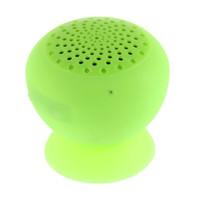 alto-falante mini silicone bluetooth venda por atacado-Cogumelo Mini Sem Fio Bluetooth Speaker Otário Silicone À Prova D 'Água Mãos Livres Alto-falantes com Microfone Para Dispositivos Apple Android PC Computador