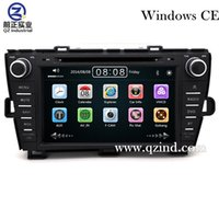 Wholesale Prius Navigation - FOR Toyota Prius 2008 - 2014 car dvd player With Built-in GPS Navigation HD 1080P MP4 Player Bluetooth FM AM Radio Steering Wheel Control