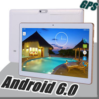 Wholesale Google Android Mtk - NEW 1GB+16GB MTK 6582 Quad-Core Google Android 6.0 IPS 1280*800 capacitive touch screen 3G WCDMA Phone Dual Camera GPS 2017 E-10PB