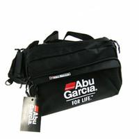 Wholesale Abu Bags - Wholesale- Hot!! 1PCS ABU GARCIA Waist Tackle Bag pockets Fishing Tackle Bags Fishing Bag fly lure Waterproof fabrics pockets