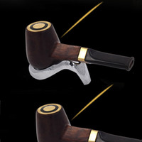 Luxury 658 Plus Brasiliano Pera profumato in legno massello E Pipe Pen Vapor E-cig Vaporizzatore Kit ricaricabile Ceramic Atomizer Core VS E tubo 618