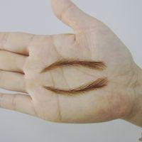 Wholesale Tattoo Kits Powder - Wholesale- Eyebrow Pencil Powder 2016 Makeup Sets Kit 003 Hand Made Human Hair False   Fake Eyebrows,permanent Eyebrows,tattoos Eyebrows