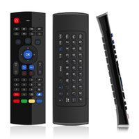 Wholesale android stick keyboard - Wholesale- Hot Sale Six axis AirFly mouse T3 2.4G Wireless Keyboard For Android TV Box remote control 3D Sense Motion stick game handle