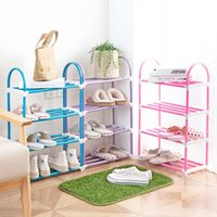 Wholesale Multi Shoes - colourful simple shoes rack,multi decks combination style shoes carrier,shoes frame