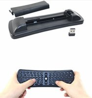 Wholesale cs918 android tv box resale online - T6 Wireless Keyboard Mini Air Mouse Ghz Gyroscope Remote Control Combo For M8S M8 MXQ CS918 MXIII Android TV Box Media Player PC