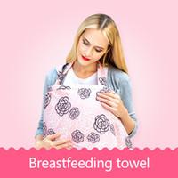 Wholesale Pink Nursing Baby - New Baby Breastfeeding Nursing Cover Poncho Pads Up Blanket Shawl Udder Covers