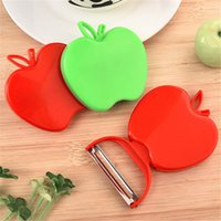 Wholesale Paring Knife Kitchen Tool - 2017 Newest Apple zesters Fruit Vegetable Peeler Cute New Kitchen Tools Kitchen Cutlery Vegetable Fruit Peeler Paring Knife IA028