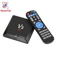 Wholesale Cheapest Android - 12PCS UP Cheapest Android TV BOX V3 2GB 8GB Android 6.0 RK3229 Quad-Core 2.4G WIFI 3D 4k HDMI Smart Media player