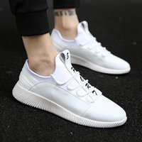 Wholesale Casual Male Sneakers - New Model Fashion British Style Male Casual Shoes Soft Rubber Sole Sneakers Walking Shoes Free Shipping YonDream-447