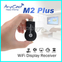 Novo AnyCast M2 Plus Wireless WiFi Display Dongle Receiver HD 1080P TV Stick DLNA Airplay Miracast para SmartPhone Tablet PC para HDTV HDMI