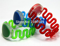 Wholesale rfid silicone bracelet resale online - MHz RFID Silicone NFC Wristband Waterproof NTAG213 Smart Bracelet for Events Activities