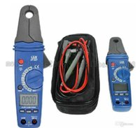 Wholesale Digital Clamp Dc Current - CEM DT-337 Clamp Meter AC DC 1mA High Resolution Low Current V R C Hz Functions free shipping MYY