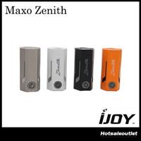 Wholesale electronic cigarette box set - Authentic IJOY MAXO Zenith VV Box MOD 300W MAXO Zenith IWEPAL Chip-set Suit IJOY Combo RDTA Tank Electronic Cigarette Mod