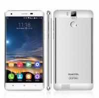 "Wholesale Waterproof Phone India - 6000mAh Oukitel K6000 Pro Fingerprint Mobile Phone 5.5"" 3GB RAM 32GB ROM 13.0MP 4G LTE Octa Core 1920x1080 Waterproof Smartphone"