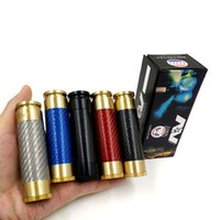 Wholesale cigarette clone resale online - AV ABLE MOD Carbon Fiber AV Style E Cig Limitless Edition Clone Electronic Cigarette Mechanical Mod Fit battery DHL Free