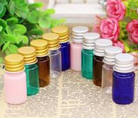 Wholesale plastic wishing bottles resale online - 2017 New ml Many colors PET Bottles Aluminium Lid Empty Wishing Bottles Jars Plastic Emulsion bottle