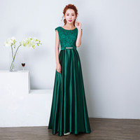 Wholesale Fashion Line Jerseys - New Arrival Elegant A Line Sheer Neck Sequin Long Gold Evening Dresses 2016 New Arrival Women elegant golden Formal Gowns dinner Dress