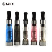Wholesale Electronic Cartomiser - Original Mlife CE4 Atomizer eGo Cartomiser Clearomizer for Ego Evod Electronic Cigarette Battery E Cigarettes 1.6ml Tank Vaporizer ce5 ce6