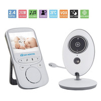Wholesale Vision Hours - Wholesale- Baby Monitor Wireless Video with Digital Camera - 24-Hours Standby, Night Vision, 2.4-inch Large Screen, Temperature Monitoring