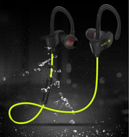 Wholesale Headphones Microphone Sale - Sales ! Sports 4.1 bluetooth headphones Ear Hook Type Wireless Stereo Headset With Volume Control+Microphone For iPhone 6 6s 7 plus