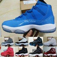 zapatos de descuento para el baloncesto al por mayor-2017 (11) XI Bredo Concord Gamma Legend Azul Zapatillas de baloncesto Atletismo Calzado deportivo Descuento Deportes Zapatillas de baloncesto para hombre 11s