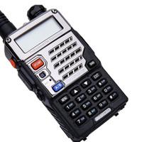 talkie walkie baofeng uv 8w toptan satış-BAOFENG UV 5RE8W walkie talkie 8W Güç Uzun Menzilli Telsiz 2200mAh Pil Çift Bant VHF / UHF FM İki yönlü Radyo