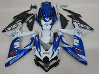 Wholesale Corona Motorcycles Gsxr - New ABS motorcycle Fairings Kits Fit For SUZUKI GSXR 600 750 K8 08 09 10 GSXR-600 GSXR750 GSXR600 GSXR-750 2008 2009 2010 blue corona