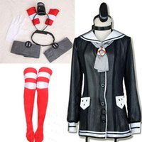 Costumi di fantasia Donne Kantai Collezione Cosplay Giappone Anime Gioco Dress Cosplay Lovely Girl Dress amatsukaze Destroyer