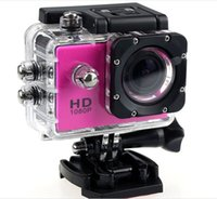 "Wholesale Hot Free Blue Video - Free shipping 2016 Hot selling Action Camera Diving 30M Waterproof Full HD 1080P 1.5"" lcd Video Sport Cam DV SJ4000 camara deportiva"