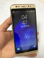Wholesale Cheap Chinese Dual Sim Phones - Cheap Goophone S8 Quad Core MTK6582 Android Smartphone 512MB 4GB 5.5 inch 1280*720 HD 5MP 3G WCDMA Metal Frame New Arrive Cell Phones