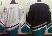 Wholesale Vintage Mighty Ducks Jersey - Anaheim Ducks Mighty Ducks #Blank CCM Throwback Vintage Jersey Cheap ICE Hockey Jerseys Heritage Stitched Free Shipping Size 48-56