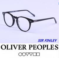 3e852c27dd2 Hot-selling Vintage optical glasses Oliver Peoples 5256 SIR FINLEY Myopia  reading Glasses Frame Men Women Retro Eyeglasses frame