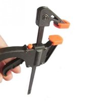 Wholesale Quick Woodworking Clip DIY Carpentry Quick Release Bar Clamp Practical inch Plastic Woodworking Bar F Clamp Clamping Device