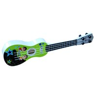 Wholesale Green Guitar Wholesale - child Puzzle Early education Four strings Can play musical instruments Music guitar Christmas Can play Can play Children's music favorite