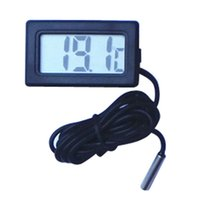 Wholesale Best Thermometer Hygrometer - Wholesale- 2017 hot sale fashion 3m Mini Thermometer Hygrometer Temperature Humidity Meter Digital LCD Display the best product