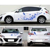Cheap Flower Decals For Cars Free Shipping Flower Decals For - Vinyl decals for cars wholesale