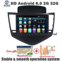 Wholesale Cruze Navigation - QZ industrial HD 9inch Android 6.0 T3 Car DVD player for Chevrolet Cruze 2011-2014 with 3G 4G Wifi GPS BT Navigation Radio RDS SWC free map