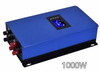 Wholesale Inverter Generators - Free Shipping 1000W Wind Power Grid Tie Inverter with Limiter   Dump Load Controller Resistor for 3 Phase 24v 48v wind turbine generator