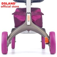 Wholesale Extend Baby - 4pc set DSLAND baby stroller Tyre protecting sleeve Wear-resisting Extend tire life
