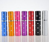 Wholesale Spray Fill - Wholesale Easy Fill Refillable Travel Perfume Atomizer Pump Spray Bottle Pocket 7 Colors Hot