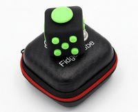 Wholesale free magic squares - Fidget cube decompression magic square anti-irritable dice decompression magic creative toys gift dice box factory prices free shipping