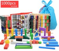 Wholesale Pines Toys - Dominoes 1000pcs domino | color International Standards Pine production |wooden toys kid toy free shipping