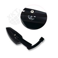 Wholesale yamaha bobber - Black Metal Mirrors For Harley Dyna Softail Electra Glide Yamaha Kawasaki Bobber