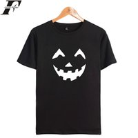 LUCKYFRIDAYF Halloween Shirt Uomo Luxury Brand Estate Manica corta Mens Tee Shirts Moda T-shirt da uomo Funny T Shirt Plus Size