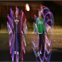 Wholesale Performance Tricks - 2017 hot selling Colorful LED light rope skipping performance tricks show children 's students sports fitness skipping outdoor supplies