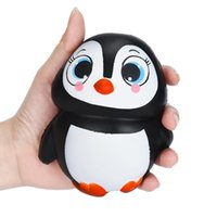 Wholesale Cute Doll Lovers - Kawaii Squishy Penguin Cute Animal Slow Rising Sweet Scented Vent Charms Kid Toy for Doll Gift Fun or Lovers Gift