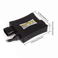 Wholesale Hid Light Ballast 55w - 1 X DC 12V 55W Xenon HID Ballast for Car Light source electronic hid ballast blocks ignitor for H4 H7 H3 H1 H11 9005 9006 slim ballast