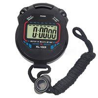 lcd dijital sayaç toptan satış-Toptan-1 adet Yeni Spor Dijital Kronometre Profesyonel El Dijital LCD Spor Kronometre Chronograph Sayaç Zamanlayıcı ile Kayış