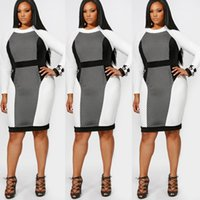 Wholesale womens costume xxl - High Quality Casual Dress Apparel Plus Size for Womens Mesh Sex Costume Long Sleeves Bandage One Piece Dresses Sexy Dress XL XXL XXXL