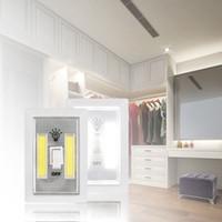 ingrosso luci a parete portatili senza fili-Luce LED per interruttori a LED luce senza fili sotto armadio Armadio Cucina RV Luce notturna Applique OOA2173